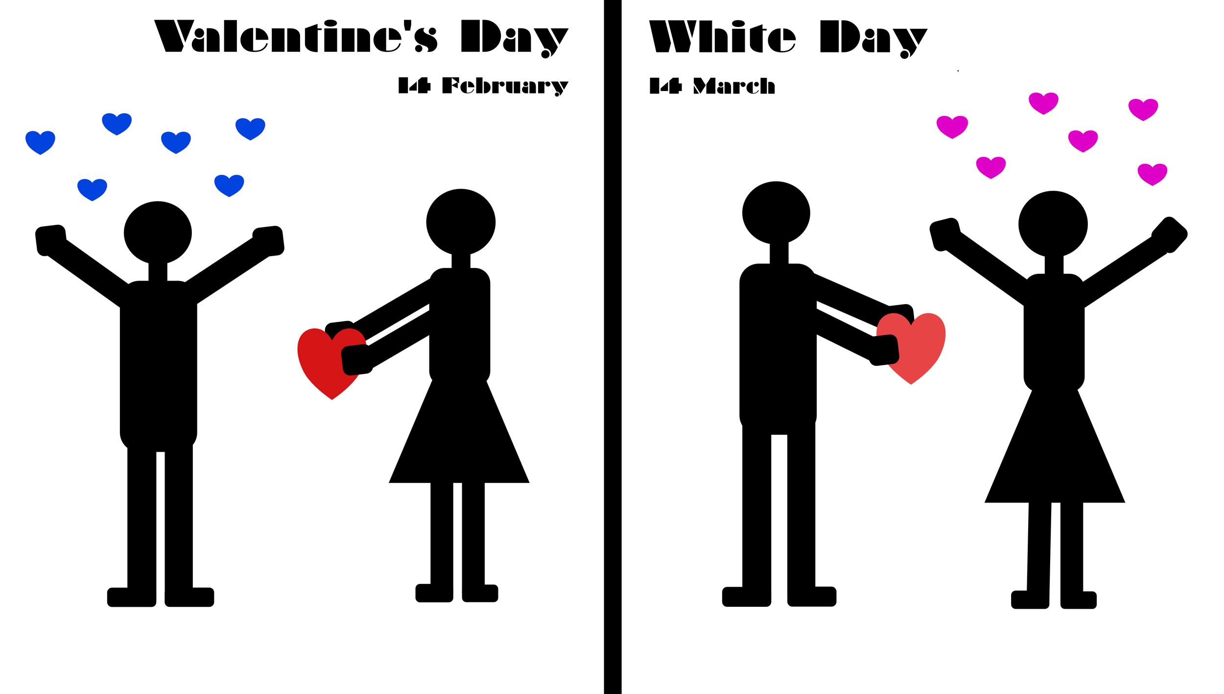 Valentine's Day and White Day: yes, things are different