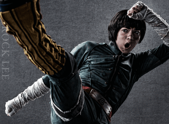Appearing for the first time on stage will be Rock Lee, played by Yugo Sato.