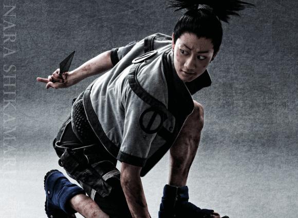 …and Tatsuya Kobayashi as Shikamaru Nara.
