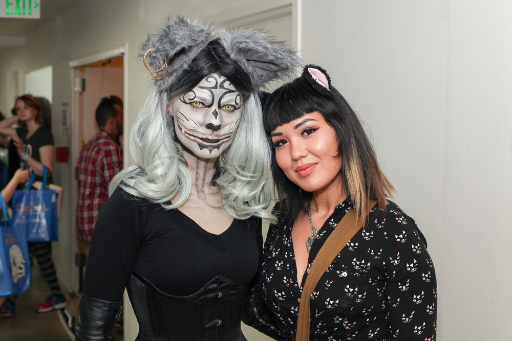 Hall cosplay was everywhere! Check out that incredible makeup job! Photo credit: Jago Soria/CatConLA