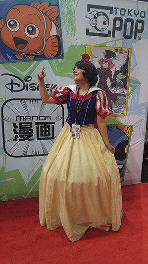 Snow White, complete with bird.