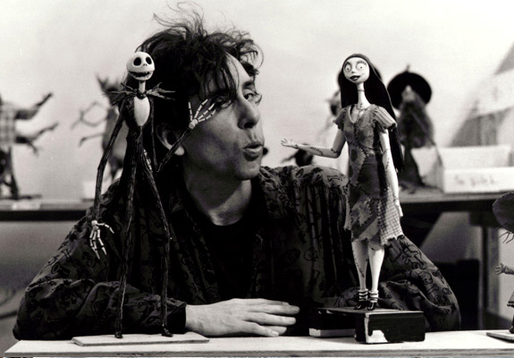 Tim Burton with friends...