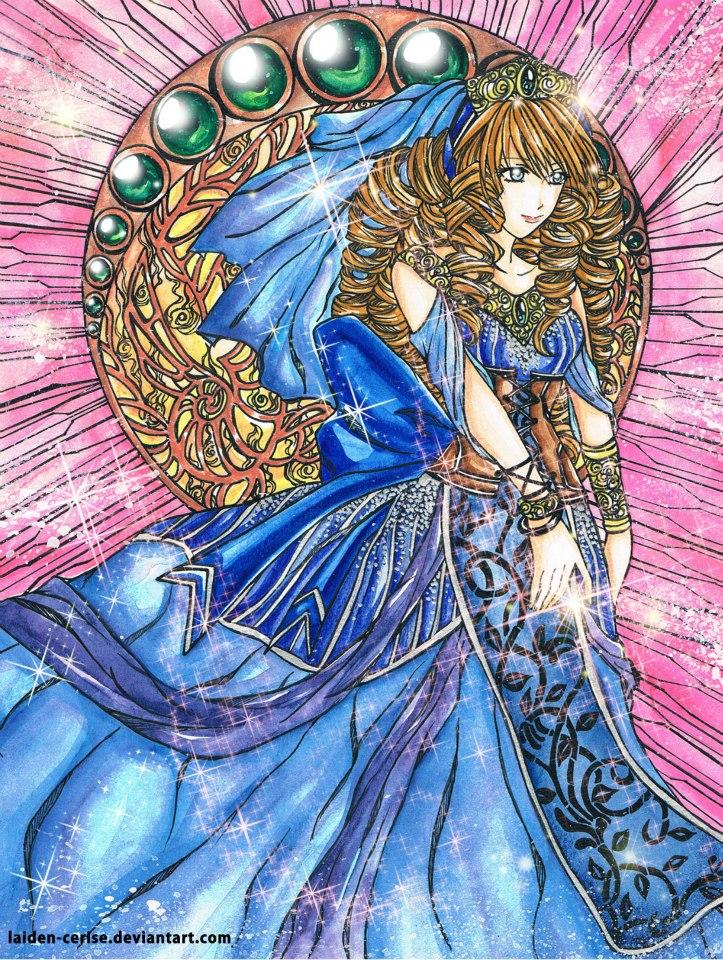 """""""Aegean Queen"""" by Laiden-Cerise (Dine Villegas)"""