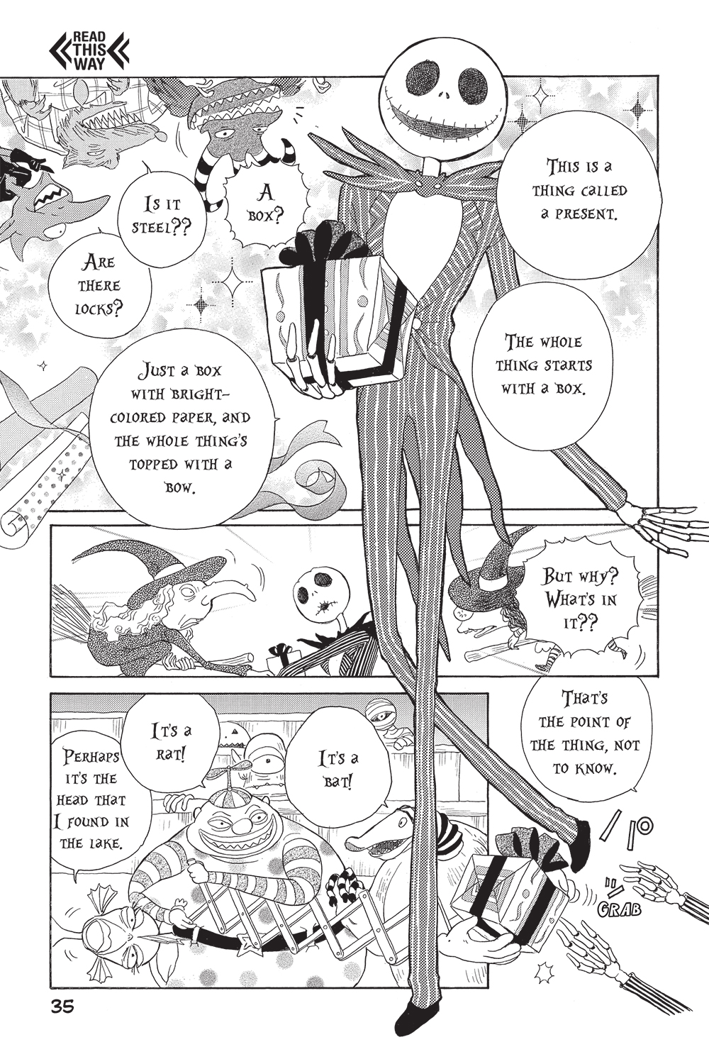 The Nightmare Before Christmas manga: a Disney Examiner review ...