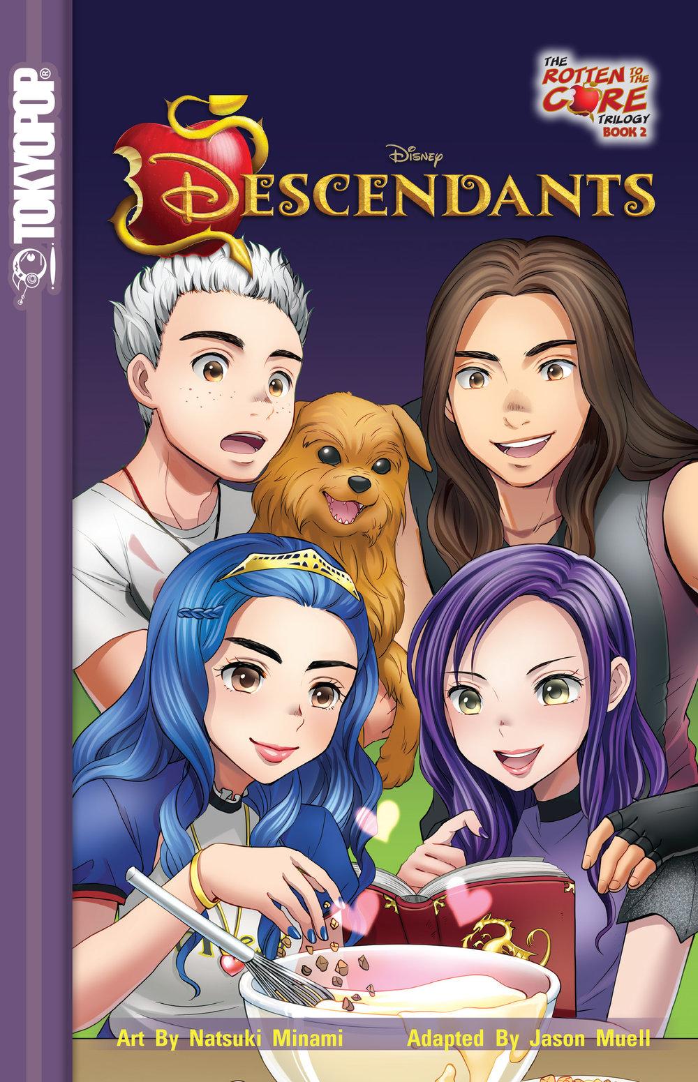 DISNEY DESCENDANTS: THE ROTTEN TO THE CORE TRILOGY (VOLUME 2)