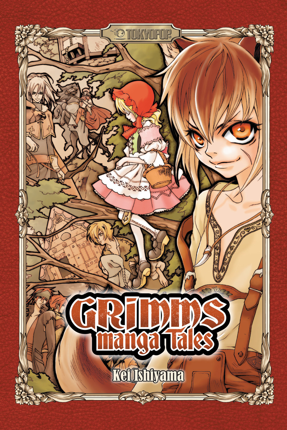 Grimms Manga Tales (print version)