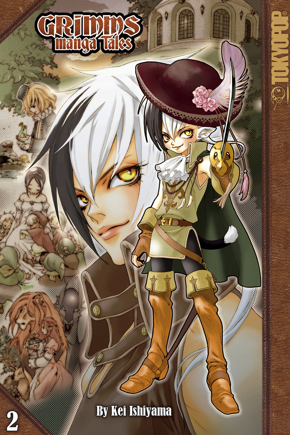 Grimms Manga Tales ebook Vol2 cover (bg).jpg