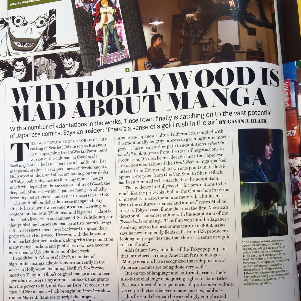 Why Hollywood Is Mad About Manga