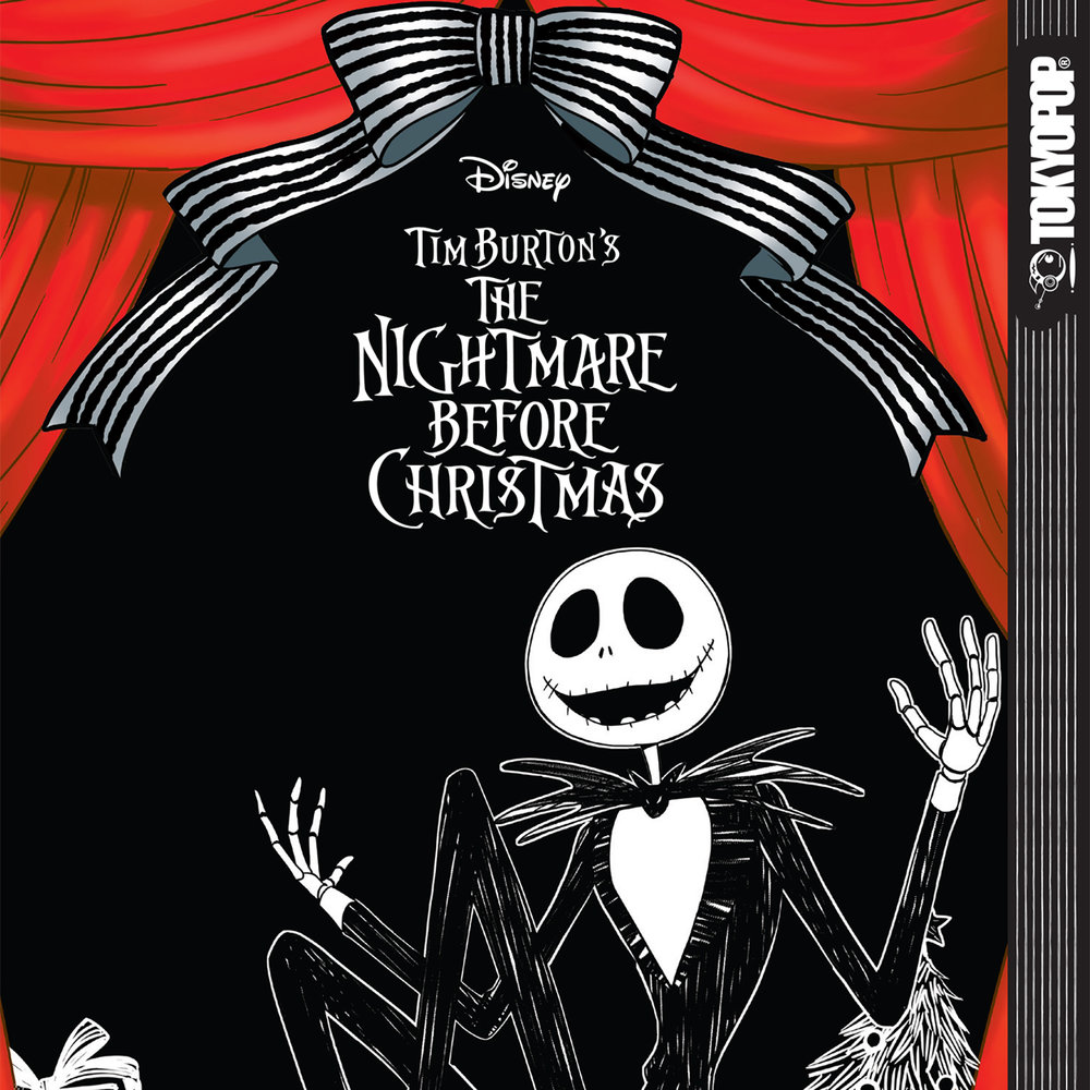 "This new ""The Nightmare Before Christmas"" manga edition is perfect for Tim Burton fans"