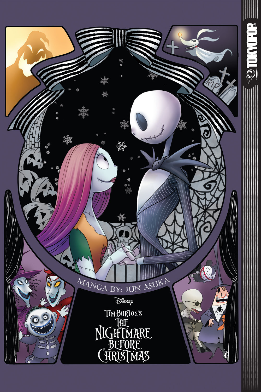 disney tim burtons the nightmare before christmas variant cover tokyopop - Tim Burtons Nightmare Before Christmas
