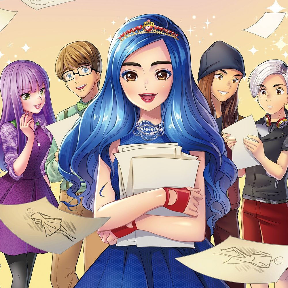 'Disney Descendants' Star In New Manga Trilogy