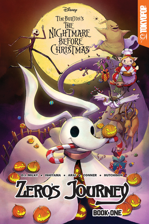 Disney Tim Burton's The Nightmare Before Christmas: Zero's Journey, GN Book 1 (FYE variant)