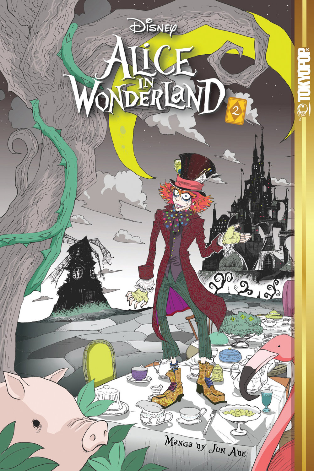 Disney Alice in Wonderland, Vol. 2 (ebook version)