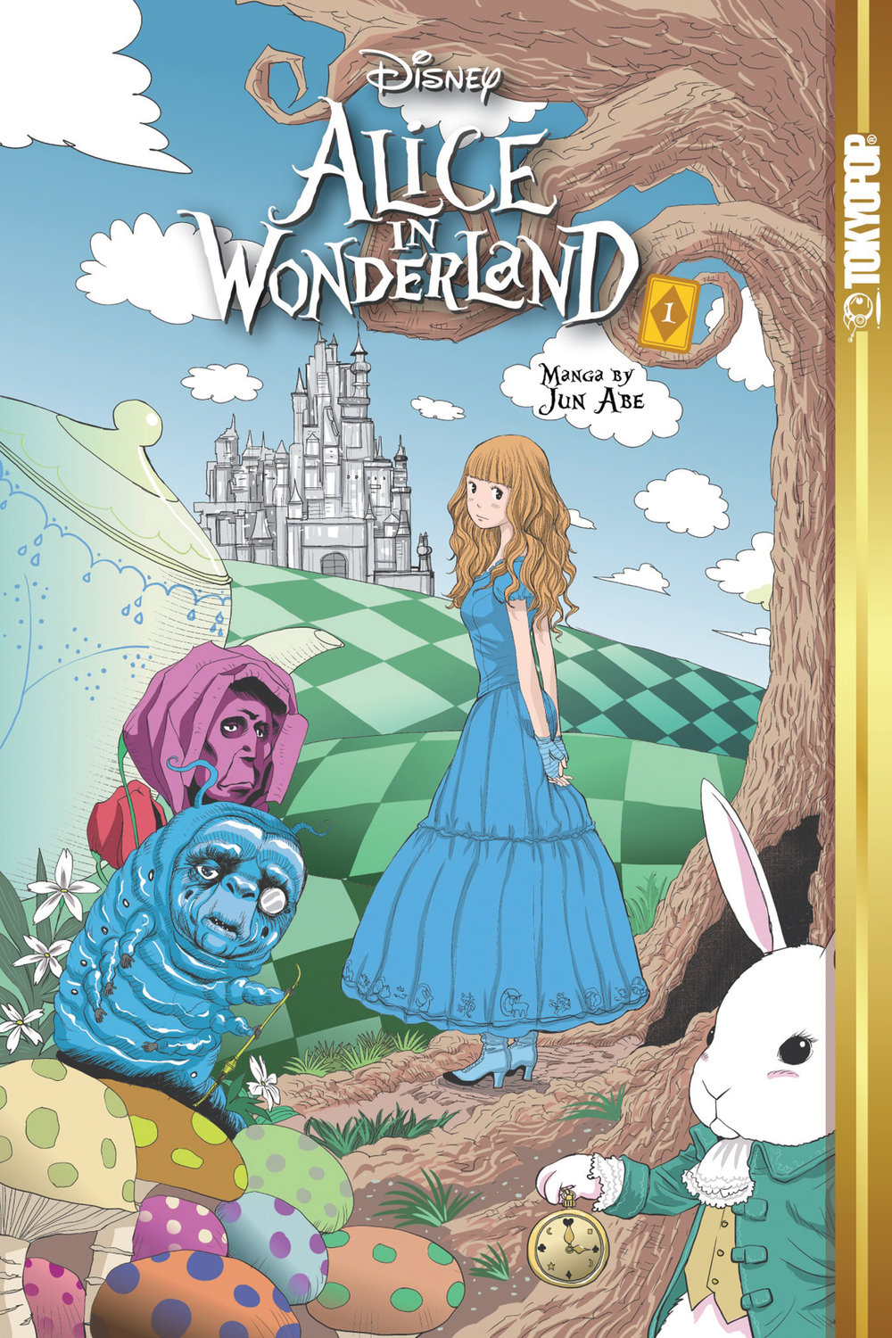 Disney Alice in Wonderland, Vol. 1 (ebook version)