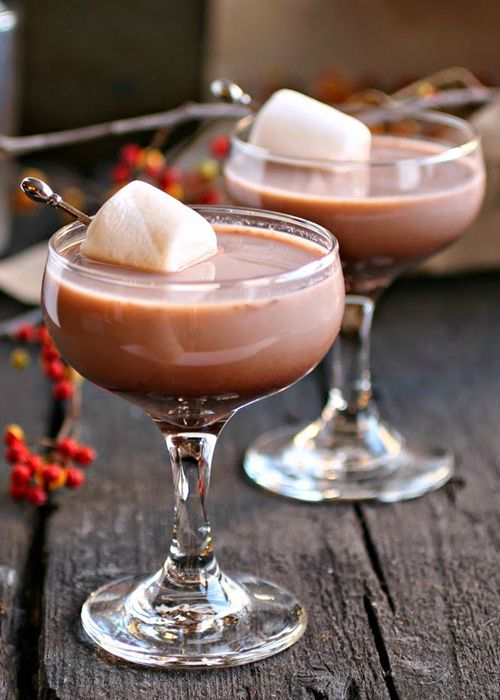 Hot Cocoa Martini Source: brides.com