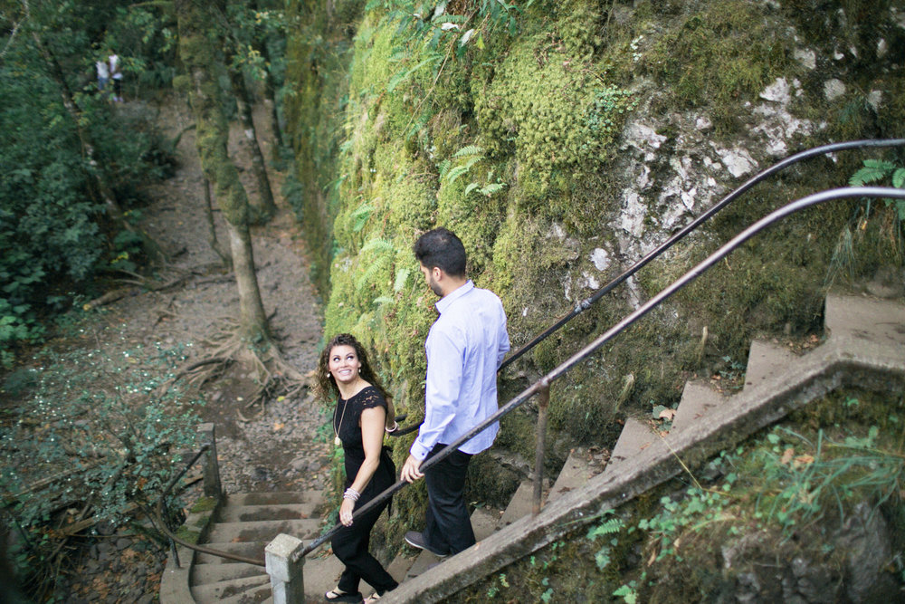 001Oneonta Gorge : Portland Oregon Wedding Photographer : Best engagment shoot location : 2016.jpg