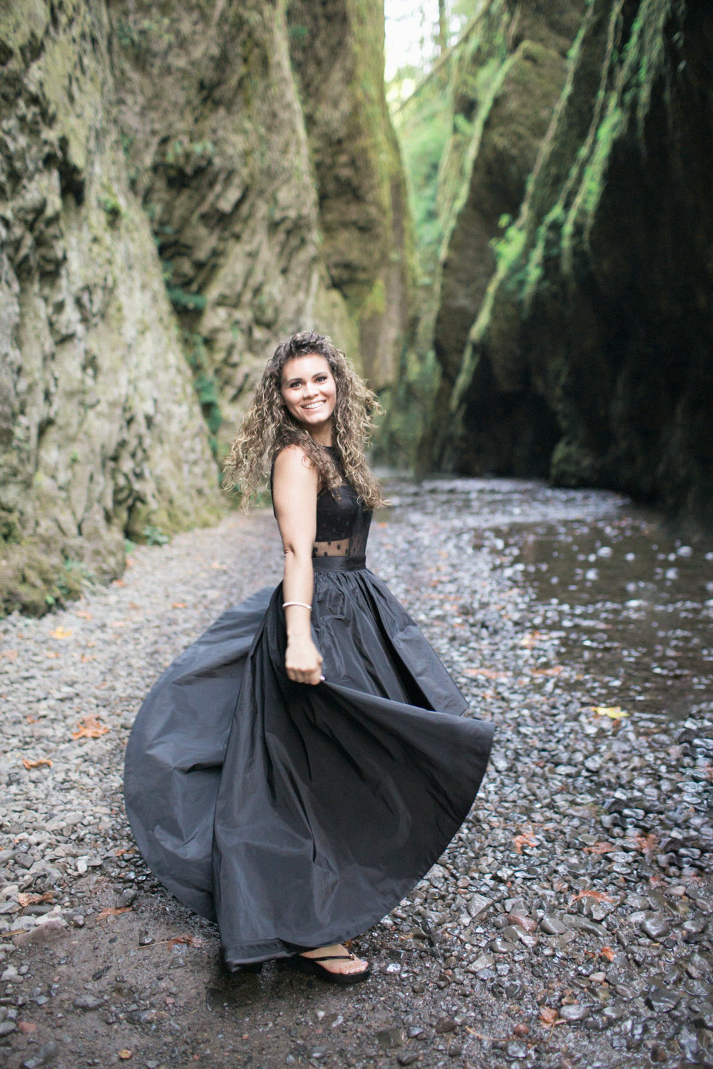006Oneonta Gorge : Portland Oregon Wedding Photographer : Best engagment shoot location : 2016.jpg