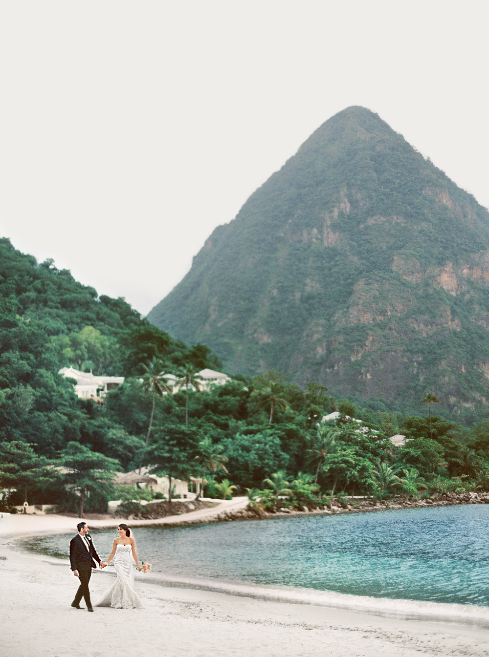 TROPICAL DESTINATION ELOPEMENT • ST. LUCIA • THE CARRIBEAN