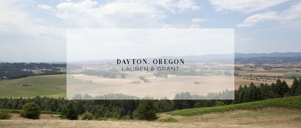 Wedding • Dayton, OR