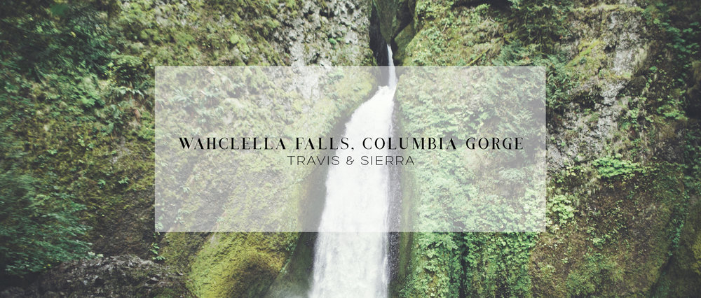 Wedding • Wahclella Falls