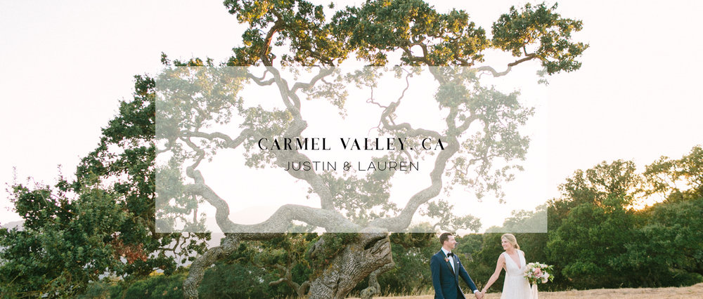 CARMEL VALLEY WEDDING VIDEOGRAPHER