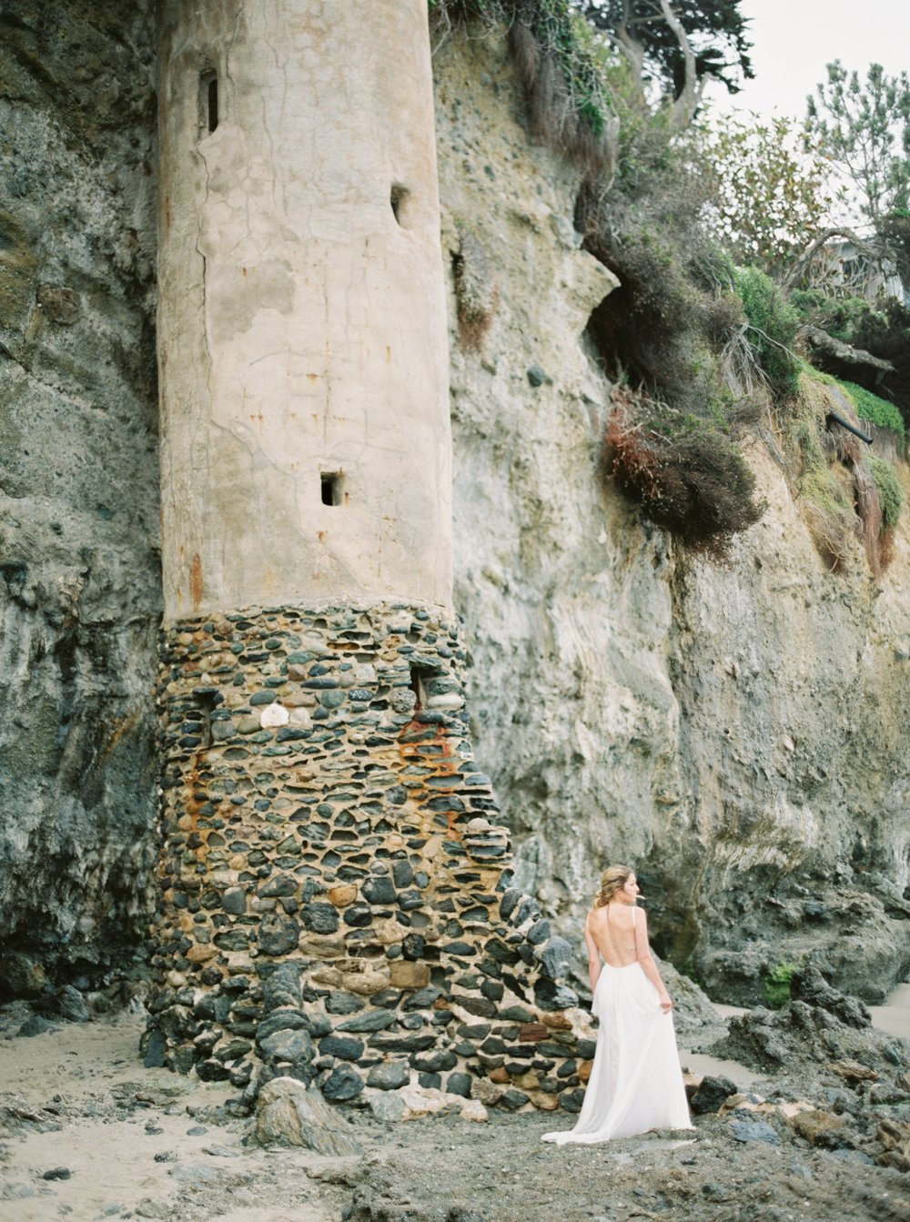 DESTINATION EDITORIAL • EUROPEAN BRIDAL SHOOT • LAGUNA BEACH, CA