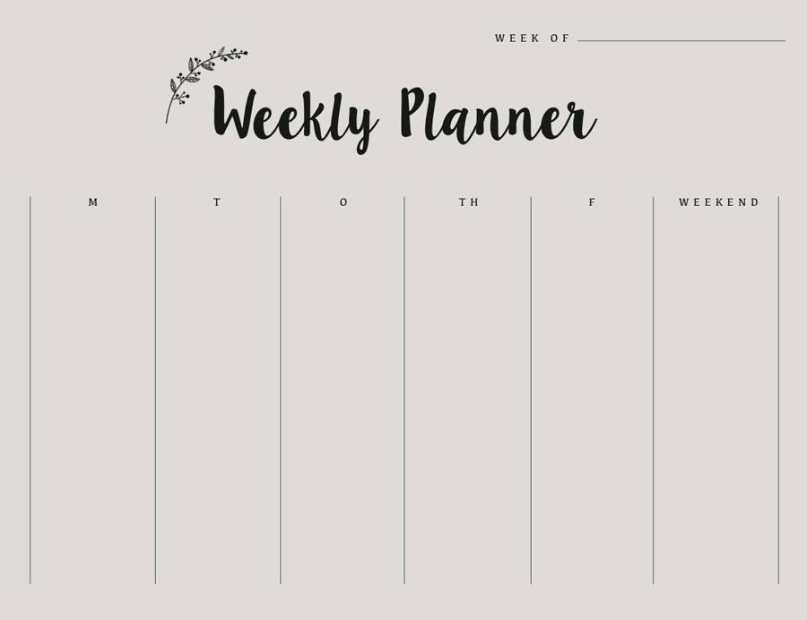 Ugeplanlægger