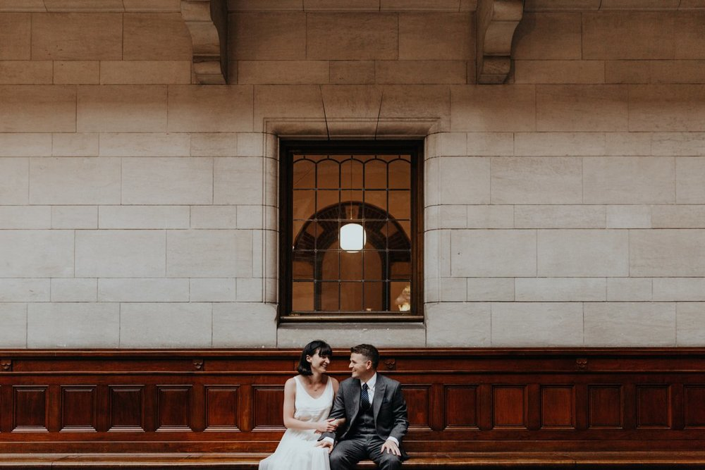 Louise & Fitan Wedding Copenhagen City Hall2