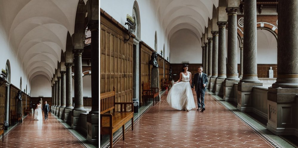 Louise & Fitan Wedding Copenhagen City Hall 11