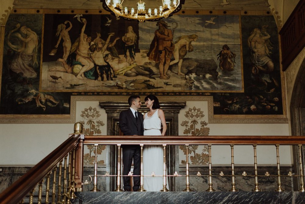 Louise & Fitan Wedding Copenhagen City Hall 15