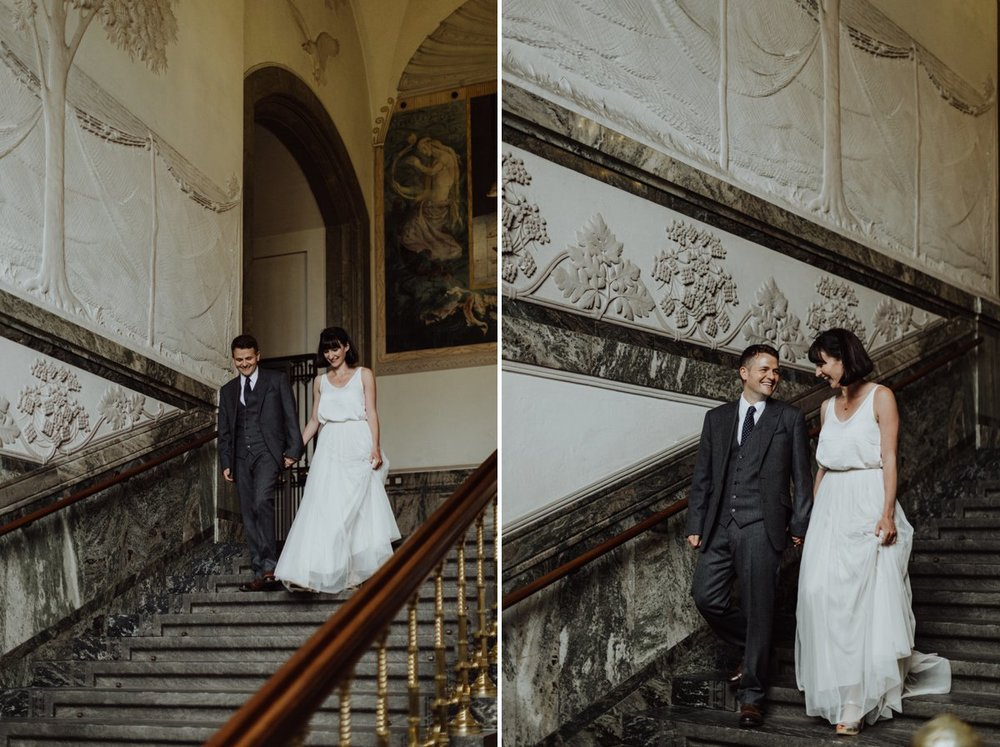 Louise & Fitan Wedding Copenhagen City Hall 16
