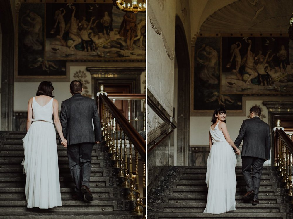 Louise & Fitan Wedding Copenhagen City Hall 4