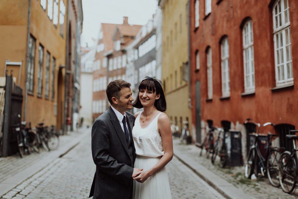Louise & Fitan Elopenent Wedding Copenhagen City Hall 13