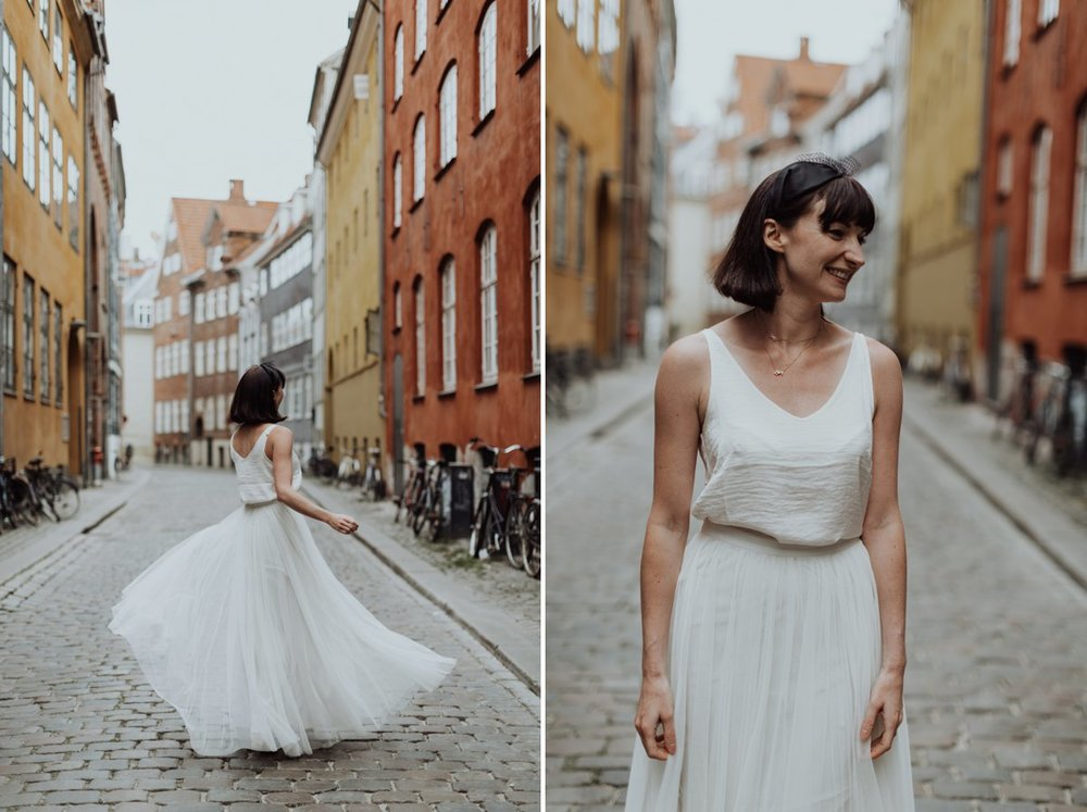 Louise & Fitan Elopenent Wedding Copenhagen City Hall 17