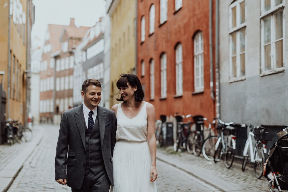 Louise & Fitan Elopenent Wedding Copenhagen City Hall 10