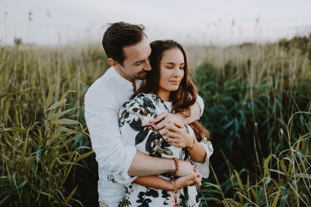 Boho Engagement - Engagement session in Copenhagen