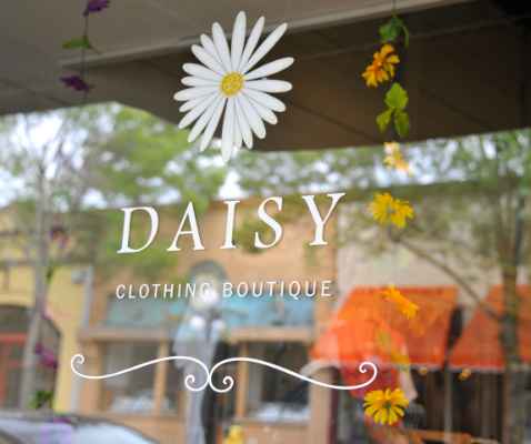 Daisy Store Window