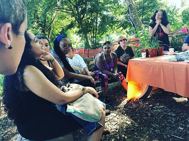 Sharing reflections after touring @lafincadelsur and telling stories about how our ancestors are connected to land & plant medicine #pocherbalists #legacies #plantmedicine #bronxfarmers #bronxhistory #honoringancestors