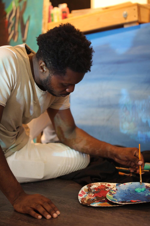 Artist Kenneth Wayne Alexander