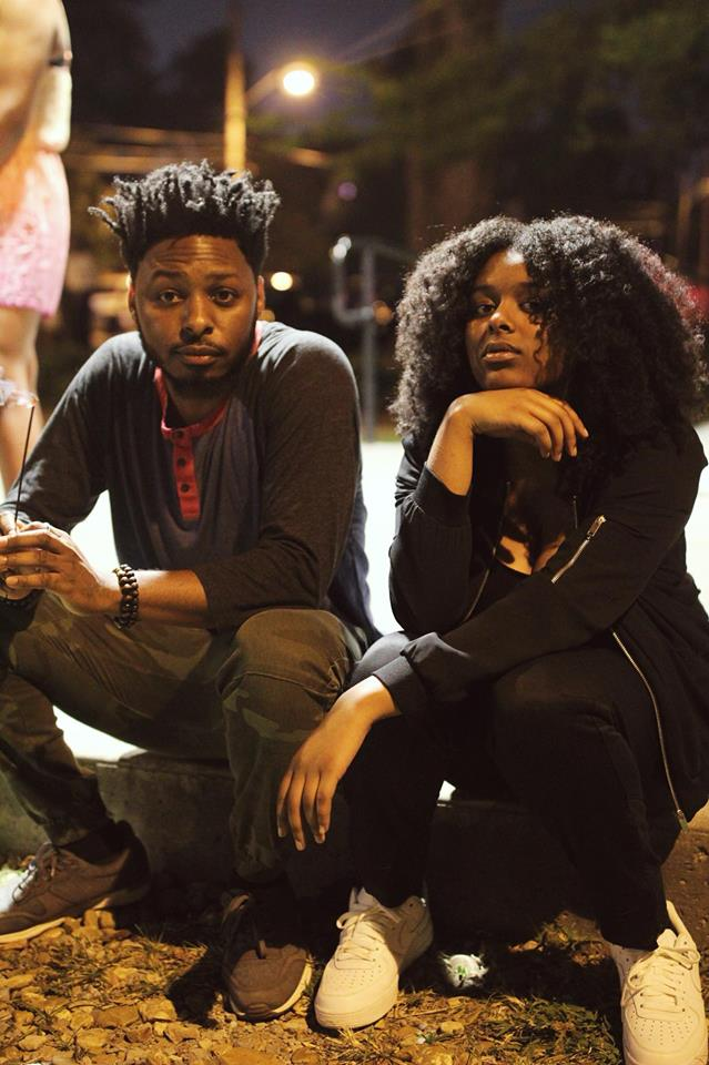 Artists Eso and Nubia Yasin
