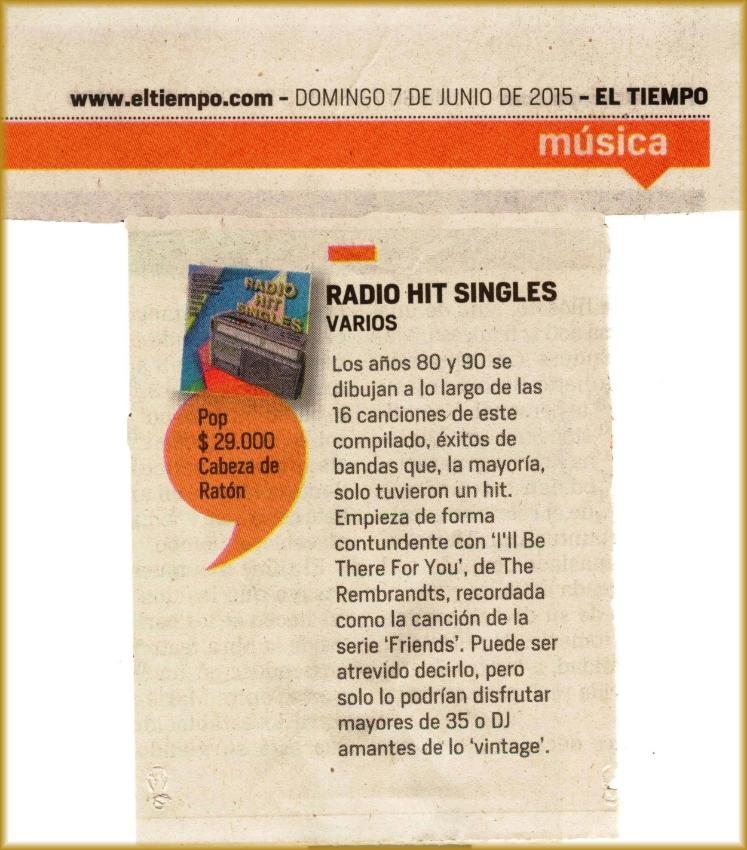 Radio Hit Singles _ El Tiempo _Junio 7, 2015.jpg