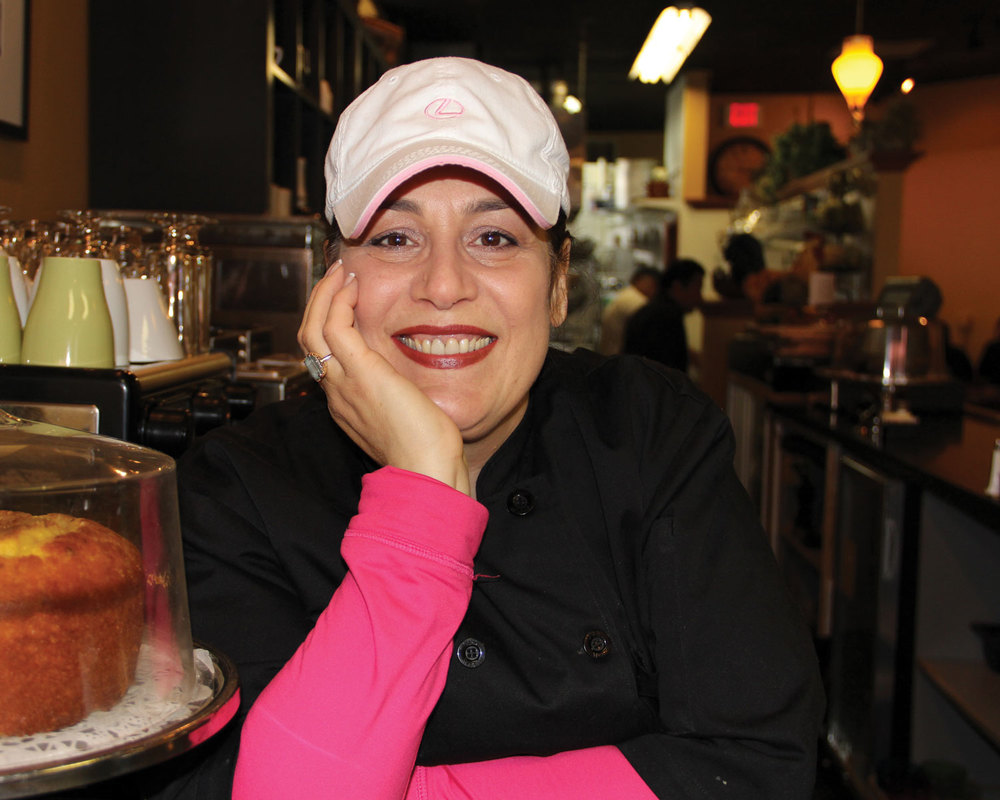 Rose, Owner of Bella's Cafe