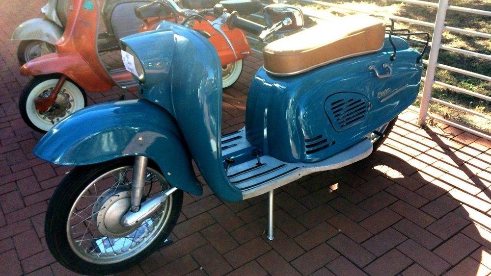 Vintage Scooter -