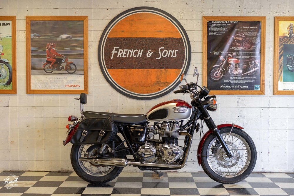 2001 Triumph Bonneville 3499 French And Sons