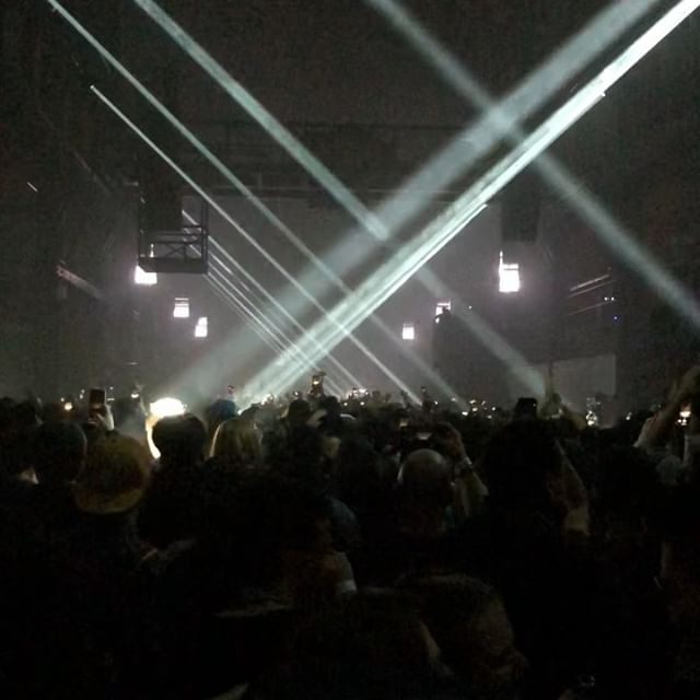 #tbt to @adambeyer & Cirez D bringing those dark techno vibes to NYC. The venue and production complemented the music amazingly! And the mood was set right with a proper set from @cristoph . . . #throwbackthursday #cirezd #adambeyer #nyc #brooklyn #brooklynwarehouse #navypier #cristoph #techno #warehousetechno