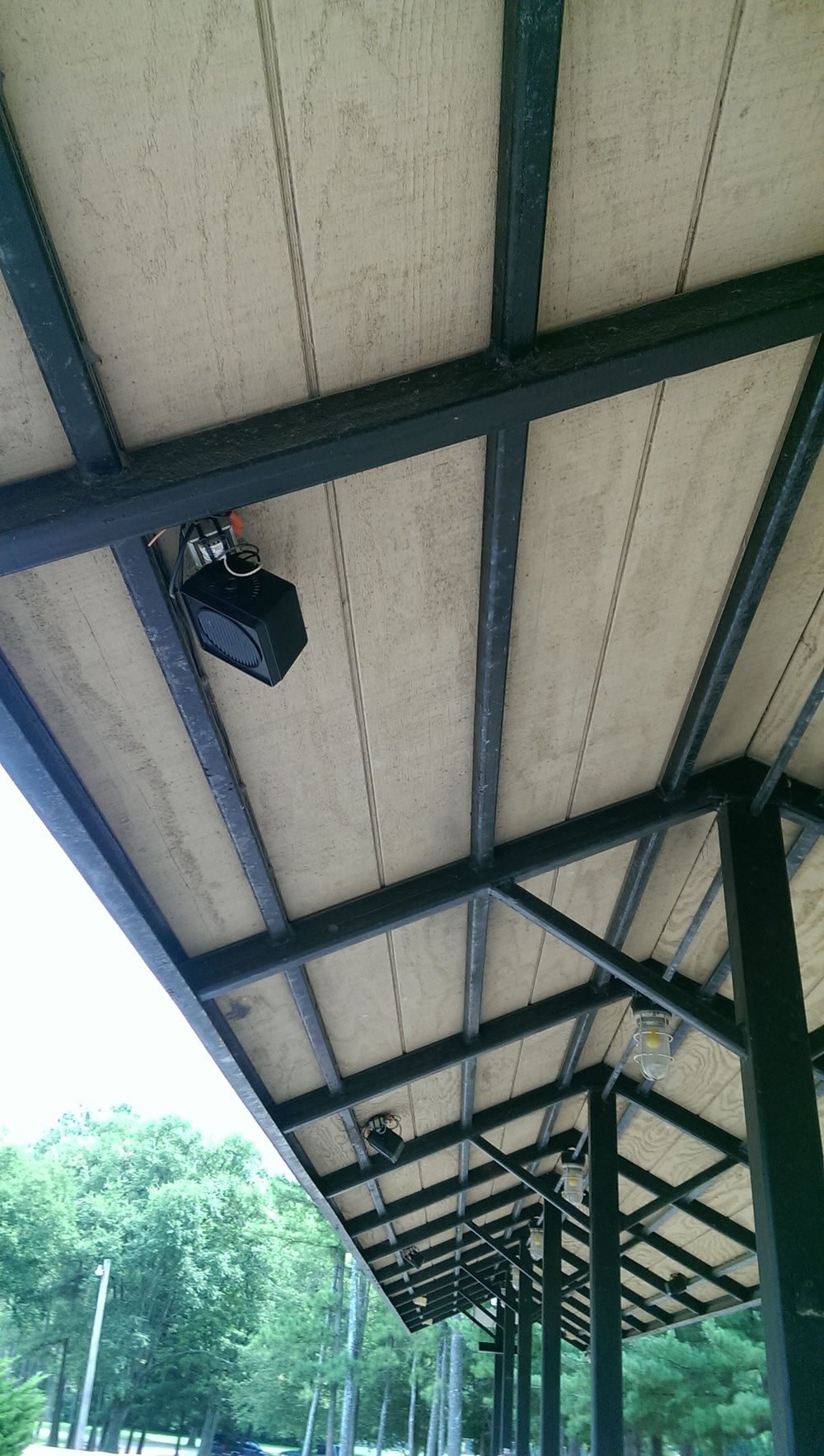 New Speakers are being installed at the passenger station. The original speakers have begun to fail or not function properly. It is hoped we can have all the new ones installed by the Fall 2012 meet.