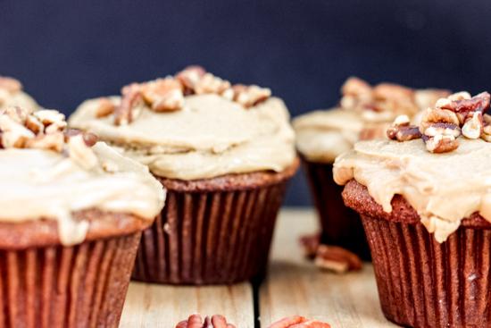 Brown Sugar Praline Cupcakes