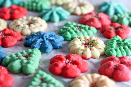 Spritz Butter Cookies
