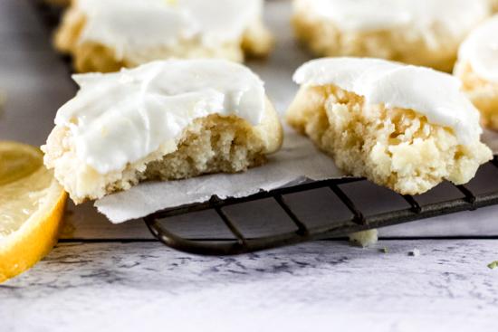 Lemon Cream Cookies