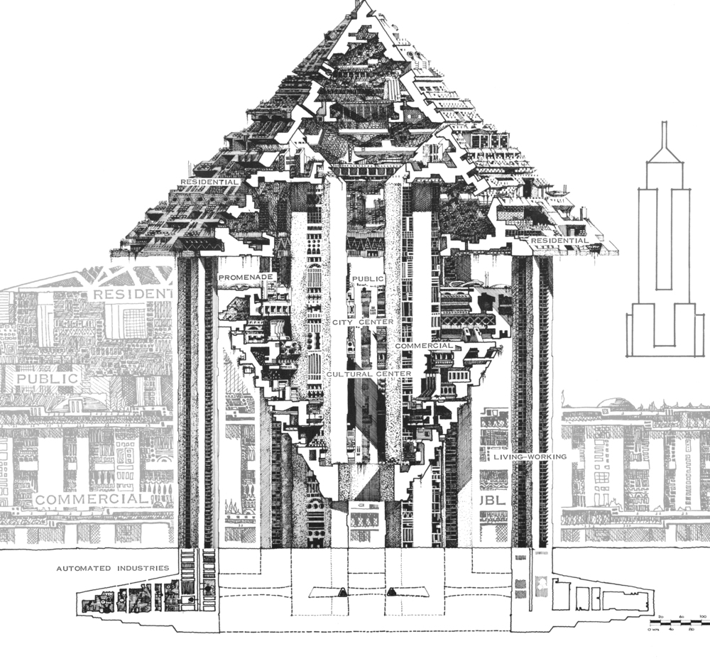 Arcology - City in the Image of Man